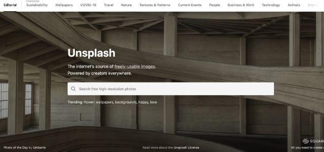 ブログ運営におすすめのサービス:unsplash