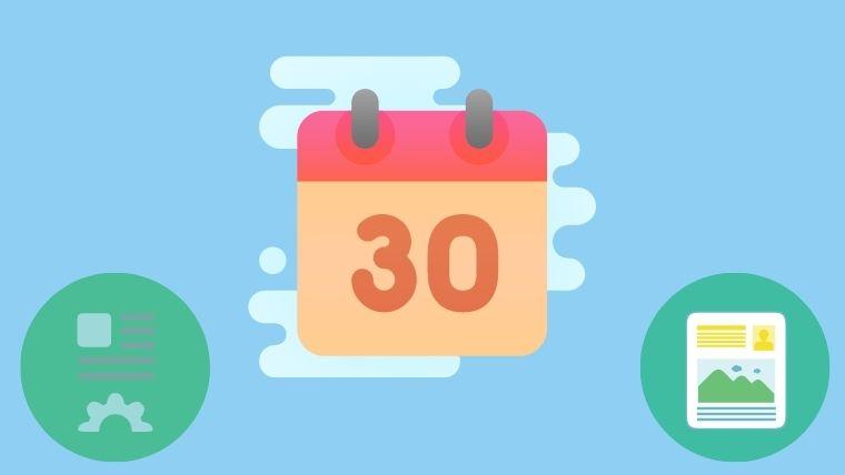 ブログ初心者で30記事達成|収益とPV数はどのくらいなのか。